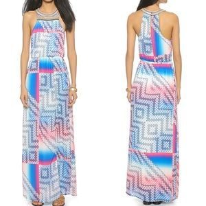 Charlie Jade Ava Embellished Georgette Maxi Dress
